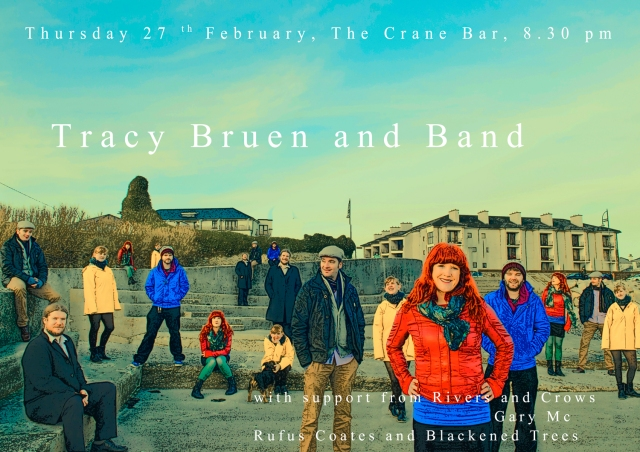 Tracy Bruen and Band play the Crane
